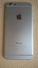 Carcasa Chasis IPhone 6 Tapa Trasera bateria Chasis WHITE BLANCA (PLATA SILVER)