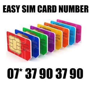 GOLD EASY VIP MEMORABLE MOBILE PHONE NUMBER DIAMOND PLATINUM SIMCARD 37903790