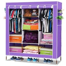 FOLDING WARDROBE STORAGE ALMIRAH A- 3 RBS LIGHT & TRENDY