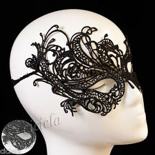 Cool Black Women Eye Mask Sexy Lace Ball Halloween Party Fancy Dress Costume New