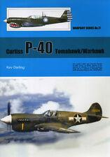 Curtiss P-40 Warhawk / Tomahawk, American WW2 fighter (Warpaint 77)
