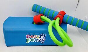 Eezy Peezy Pogo Stick hopper jumper block Adults Kids indoor outdoor - Preowned