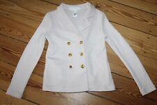 H&M KIDS Jacke Blazer rosa Gr. 122 128 Jahre Cardigan Mädchen rosa Strickjacke