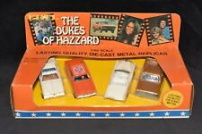 1981 ERTL THE DUKES OF HAZZARD 4 VEHICLE SET No.1570 IN 1/64 SCALE