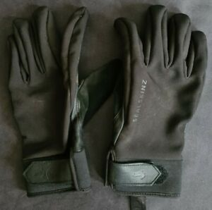 SealSkinz Waterproof All Weather Insulated Gloves, Size L, Used