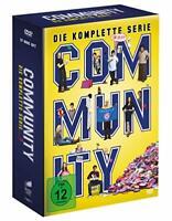 17 DVD-Box ° Community ° komplette Serie Staffel 1 - 6 ° NEU & OVP