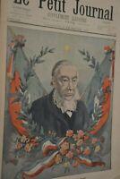 Le président Kruger / Le petit journal sup illustré N°524 / 2 décembre 1900