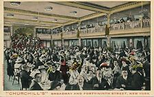 NEW YORK CITY – Churchill's – Broadway and Forty-Ninth Street