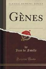 NEW Gènes (Classic Reprint) (French Edition) by Jean de Foville