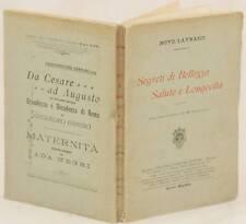 BOYD LAYNARD SEGRETI DI BELLEZZA SALUTE LONGEVITA TINTURE TRUCCO BELLEZZA 1904