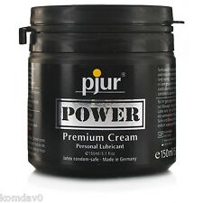 """pjur """"POWER"""" Premium Cream Personal Lube Lubricant - 150ml - AUS SELLER!!"""