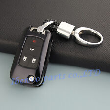 TPU Black Car Key Chain Holder For Chevrolet Cruze Malibu Impala Accessories