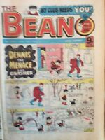 Box j rare The Beano Comic No 2061 January 16th 1982 Menace Biffo