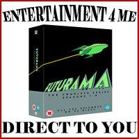 FUTURAMA - THE COMPLETE SERIES- SEASONS 1 2 3 4 5 6 7 & 8 *BRAND NEW DVD BOXSET*