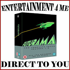 FUTURAMA - THE COMPLETE SERIES- SEASONS 1 2 3 4 5 6 7 & 8 *BRAND NEW DVD BOXSET*