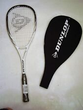 NEW! DUNLOP FURY 40 SQUASH RACQUET & COVER RRP $89