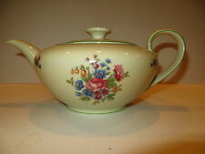 Tirschenreuth Teapot w/Lid Bavaria Germany Queen's Rose RARE