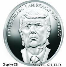 2017 1 oz Proof I Love Israel - Trump Prophecy #5 - VERY RARE
