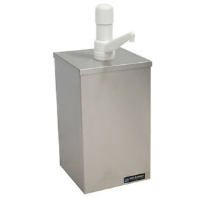 Condiment Pump Box For 1 Gallon Jar