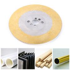 "275x2x32mm 11"" Hss Circular Saw Blade Titanium Coated Steel Pipe Cutting Disc Us"