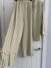 H&M TREND co ord 2 piece wide trousers Size 6