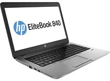 HP EliteBook 840 G1 I5-4300U 8GB 500GB WEBCAM WIFI DP BT WIN 10 pro 14""