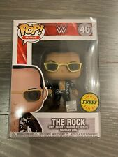 Funko Pop! Wwe The Rock Old School Chase w/Protector!