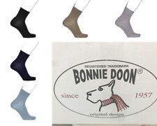 Bonnie Doon Socken  glatte Zehennaht Basic Cotton Quarter  NEU   %%%