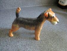 Vintage Adderley Bone China Airedale Terrier Figurine