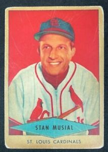 """1954 RED HEART DOG FOOD BASEBALL CARD """"reprint"""" STAN MUSIAL #23 FREE S&H"""