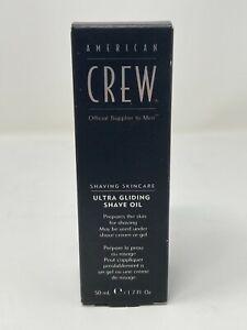 AMERICAN CREW Shaving Skincare Ultra Gliding Shave Oil 50ml -NEW