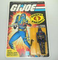 *RECARDED* 1984 GI Joe Hooded Cobra Commander v2 Sealed *CUSTOM Uncut File Card*