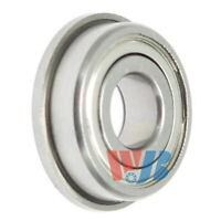 Miniature Ball Flanged Bearing 3x10x4mm WJB F623-ZZ with 2 Metal Shields