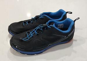 Shimano SH-CT71L Men's Size 10.5 Black/Blue Mountain Bike Cycling Bicycle Shoes.