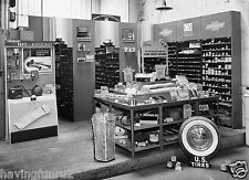 1937 Chevrolet dealership parts & accessories department   8 x 10 photograph