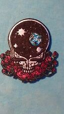 Grateful Dead Space Your Face 3 x 2.75 Inch Iron On Patch