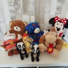 Teddy Collection, Build Bear, DISNEY Minnie Donkey Lion bundle job lot