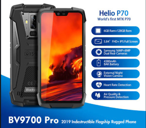 Blackview BV9700 Pro Rugged Smartphone 6GB+128GB  Android 9.0 IP68 Waterproof