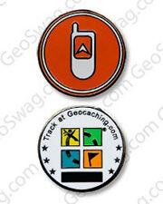 GPSr Icon Micro Geocoin For Geocaching (Travel Bug)
