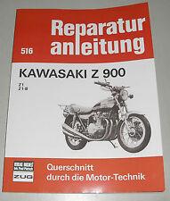Reparaturanleitung Kawasaki Z900 Z1 / Z1-B / Z 900 ab Baujahr 1972