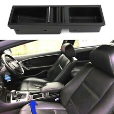 Black Front Center Console Storage Cup Holder Fit BMW E46 3 Series 1998-2007 T8(Fits: M3)