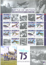 Isle of Man-Battle of Britain-World War II-Military-Aviation special sheet mnh
