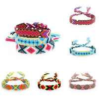 Beach Hand Weave Charm Braided String Rope Friendship Bracelets Ethnic Jewelry