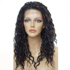 Lace Front Wig Synthetic Fiber Wig Heat Resistant Long Wavy Wig Party Wigs Hair