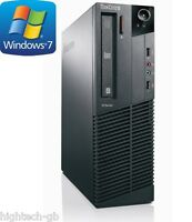 Lenovo Tower M91p Complete Set  Intel Core i7 2nd Gen 8GB Ram 500GB HDD Win 10