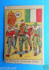 figurines picture cards cromos figurine v.a.v. vav 44 anni 40 brescia partigiani