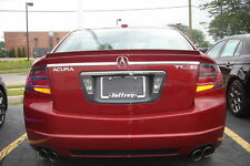 Acura TL 2 Piece Rear Chrome Trim Trunk Molding