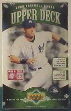 2006 Upper Deck Baseball Factory Sealed Box--24 Packs