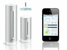 Netatmo Weather Station for IOS and Android + additional rain module