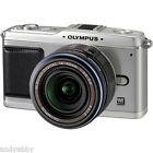 Olympus PEN E-P1 12.3 MP Digital Camera - Silver Kit w/ 14-42mm Lens NEW IN BOX!